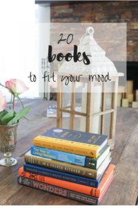 20 Book Recommendations According to Your Current Mood
