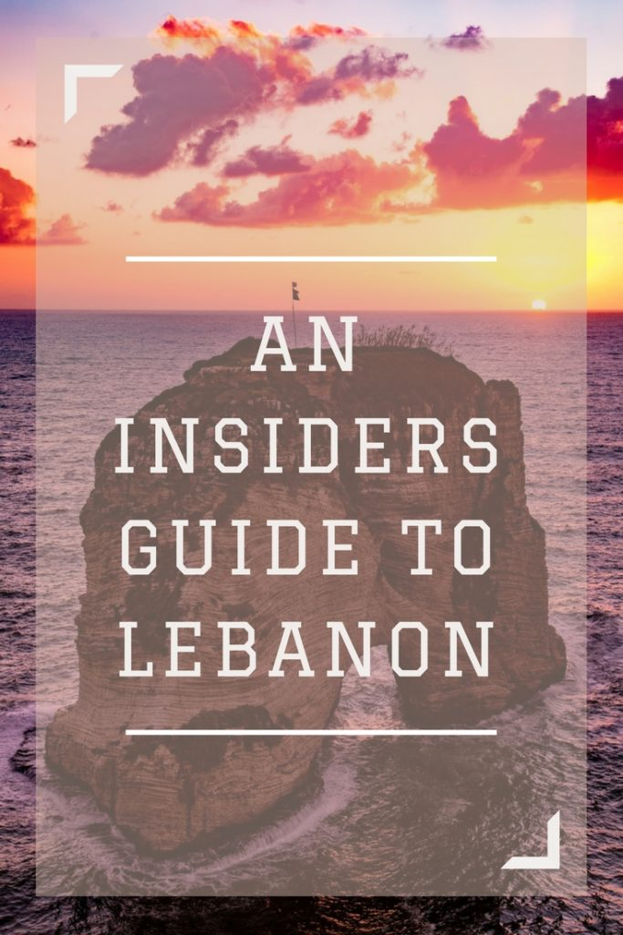 Insider's Guide to Lebanon | what to know before traveling to Beirut, Lebanon, Middle East | Things to do in Lebanon | safety in Lebanon |