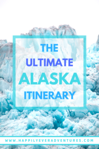 The ultimate 5 day Alaska itinerary. Everything you need to know to road trip through Alaska and visit Denali National Park, Seward, Girdwood, Talkeetna, lots of glaciers, and learn to photograph the Northern Lights