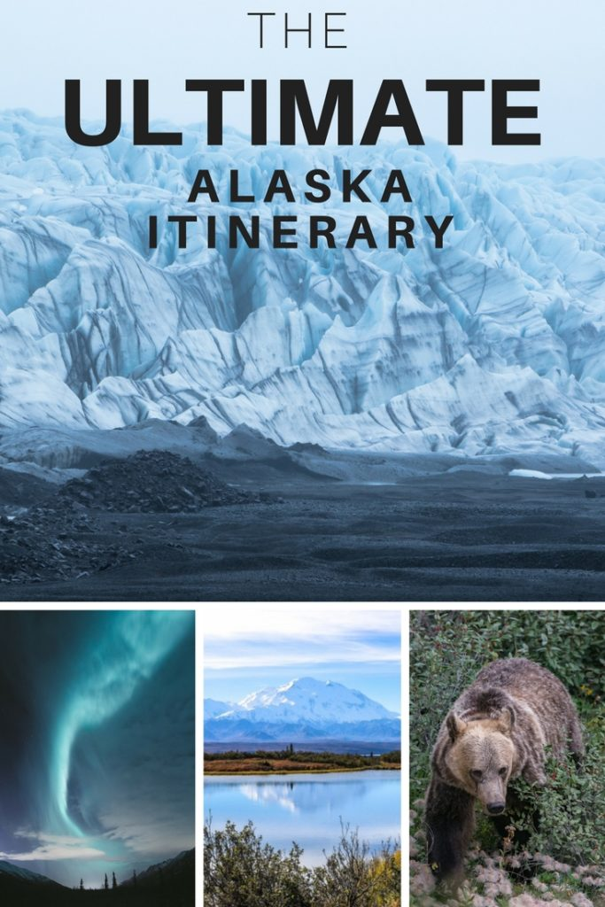 The Ultimate Alaska Itinerary | Alaska, USA | Denali National Park | Alaska Road Trip | Alaska Glaciers | Seward | Anchorage | Alaska Planning | 5 days in Alaska |
