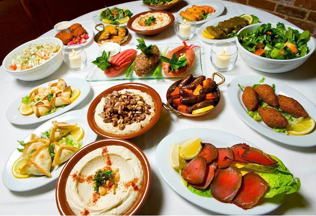 Arabic mezze (or appetizers) can be very adventurous!