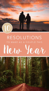 The best New Year's resolutions for couples
