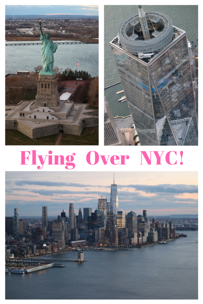 Flying Over NYC!