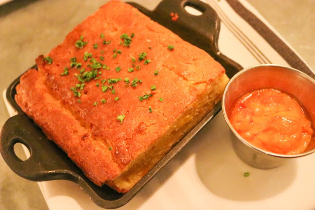 August Restaurant NYC cornbread