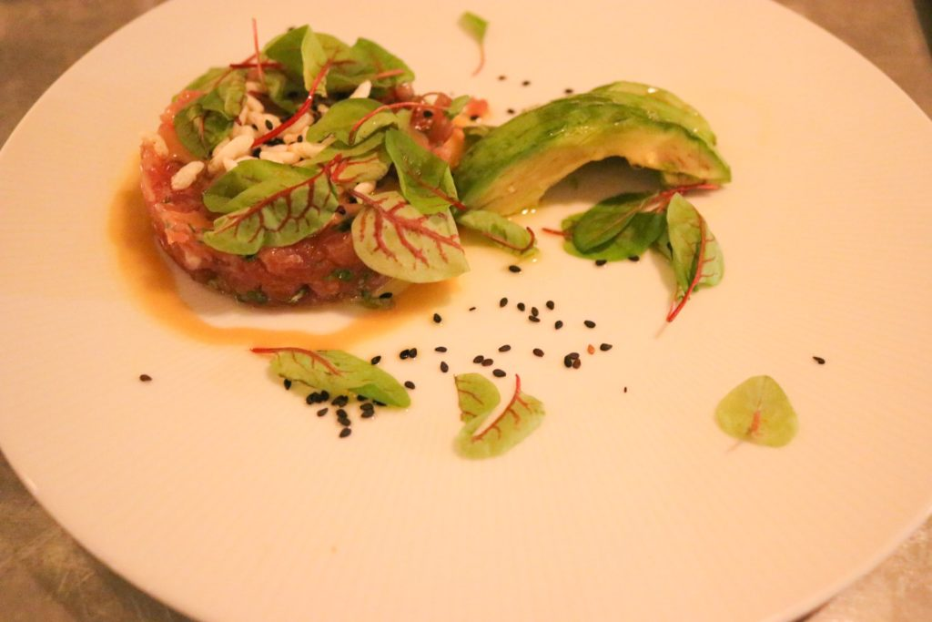 August Restaurant NYC tuna tartare