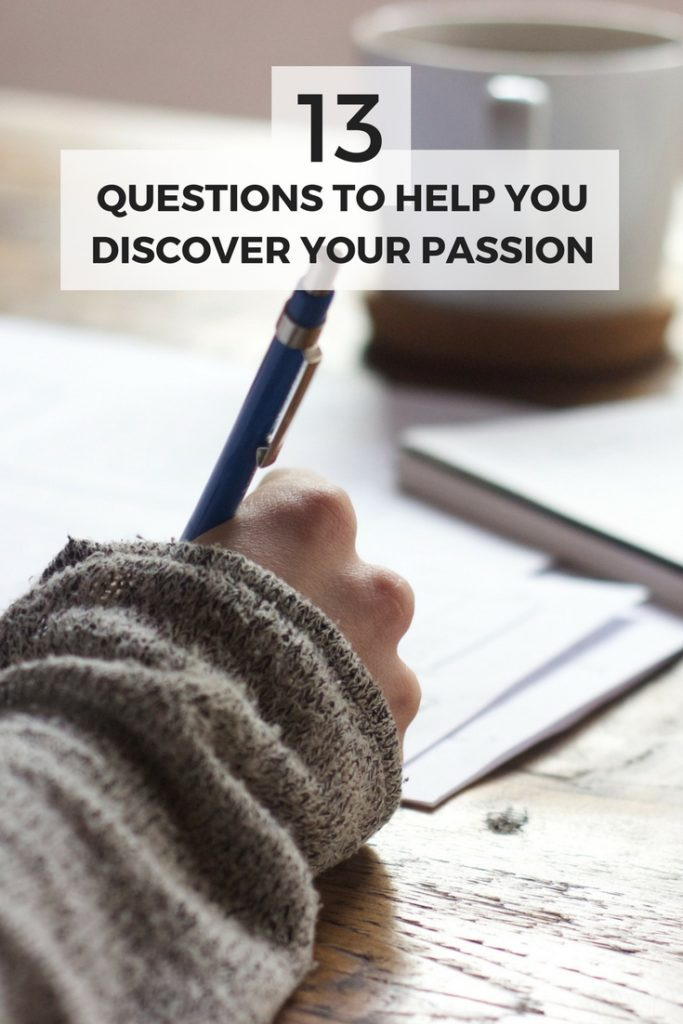 Not sure what you're passionate about? Asking yourself these 13 questions will help you figure out your passion and what makes your heart happy