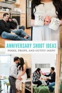 First year wedding anniversary shoot, at home shoot, outfit, pose and prop inspiration for a couples shoot #couplesshoot #anniversaryshoot #athomeshoot