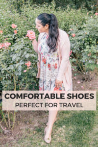 Cute and Comfortable Shoes for Travel: booties, flats, wedges, heels, and sandals