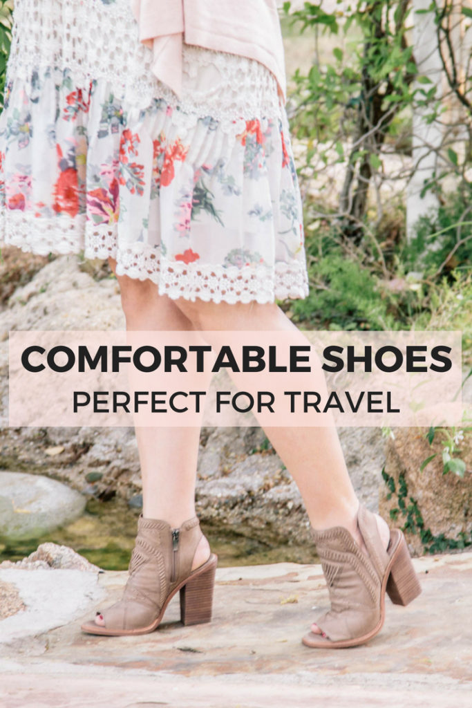 Cute and comfortable shoes that are perfect for travel! You'll be able to explore all day, even on cobblestone, without hurting your feet