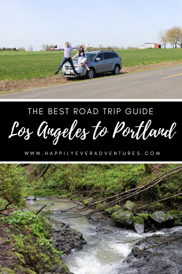 Los Angeles to Portland Road Trip Itinerary: everything you need to know for a perfect drive to Portland along the California Coast with stops in Morro Bay, San Francisco, Santa Cruz. Including the best things to do in Portland and the best things to eat in Portland, Oregon