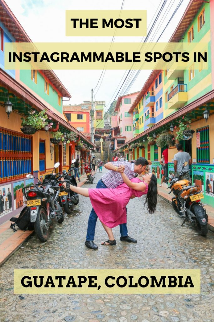 The Most Instagrammable Spots in Guatape, Colombia