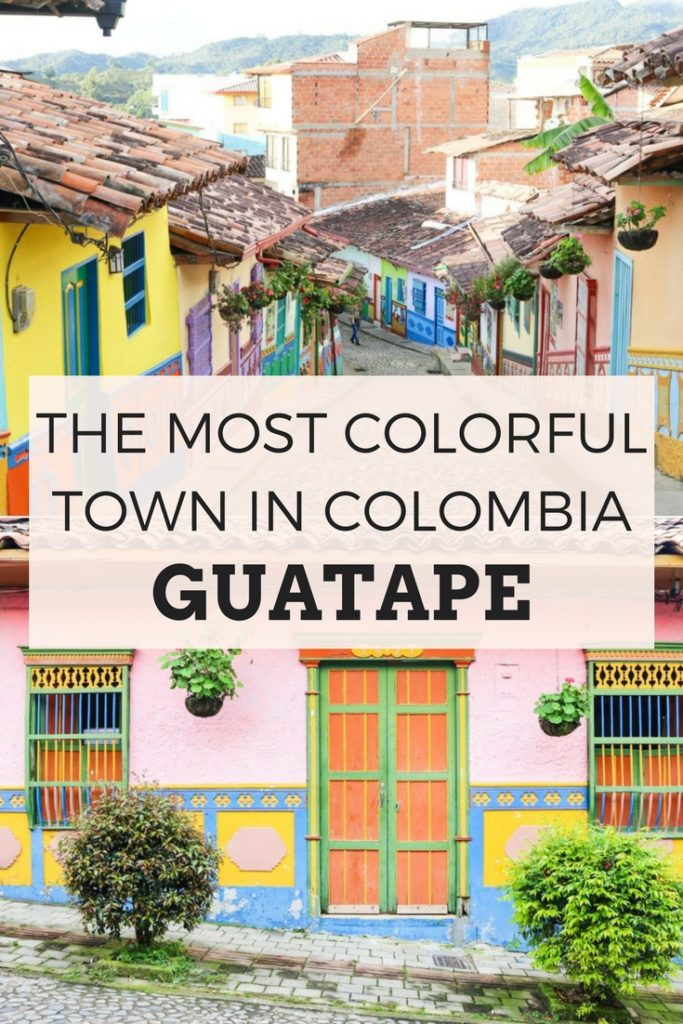 THE MOST COLORFUL TOWN IN COLOMBIA: GUATAPE #southamerica #colorful #guatape #colombia #medellin #instagrammable