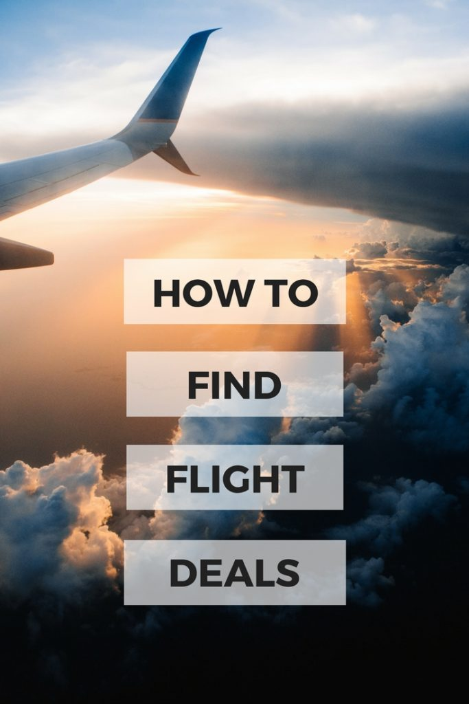 Hacks on finding flight deals and cheap flights. Tips and tricks you may not have tried #travel #cheapflights