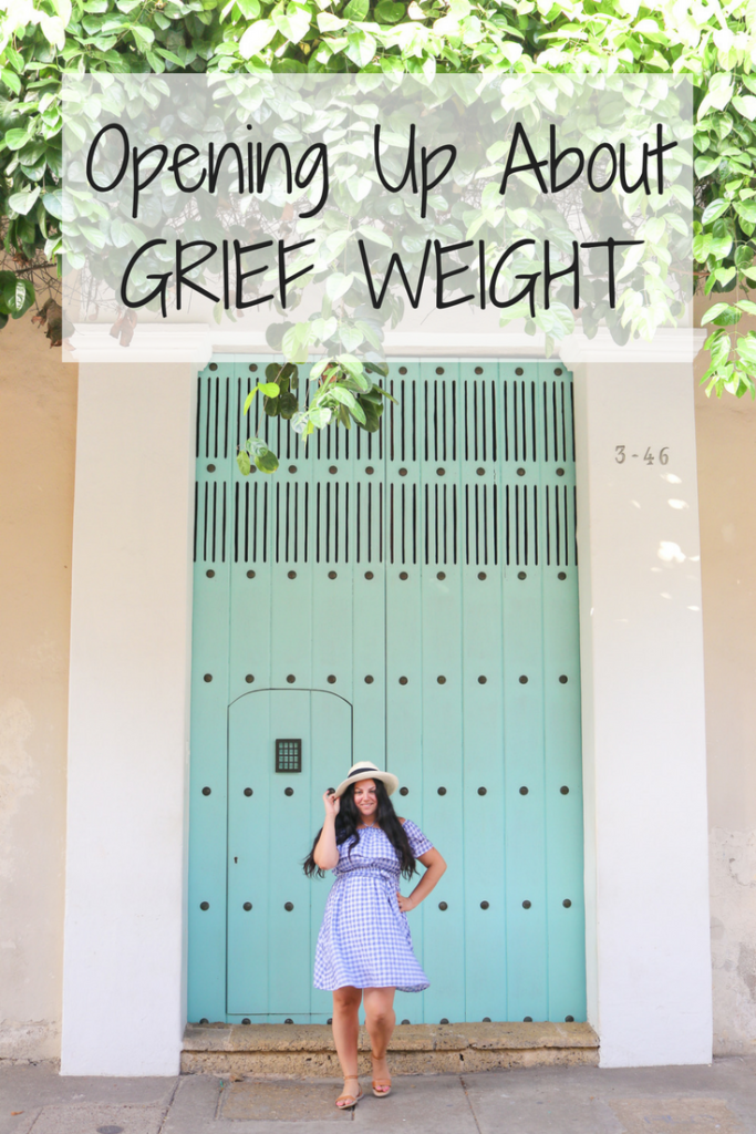 Sharing about my grief weight and the unhealthy way I handled my greatest loss