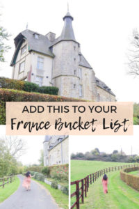 Add this to your France Bucket List: You can spend the night at a real life old castle in Normandy that has been converted into a bed and breakfast