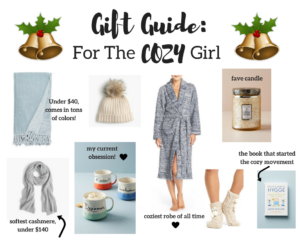 Gift Guide for Her: Cozy