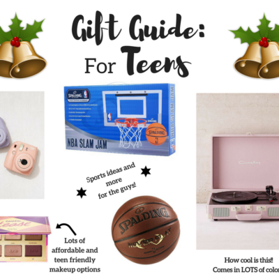 Gift Guide for Teens As Told By Teens!