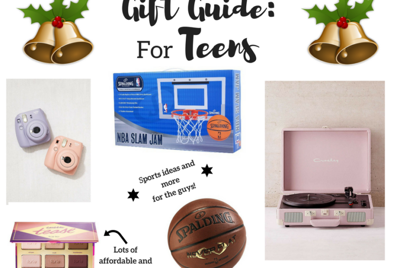 Gift Guide for Teens as told BY TEENS