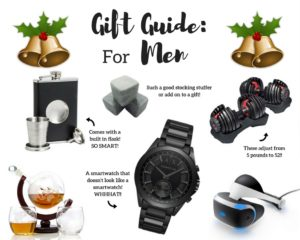 The Ultimate Gift Guide for Men as told by Men!
