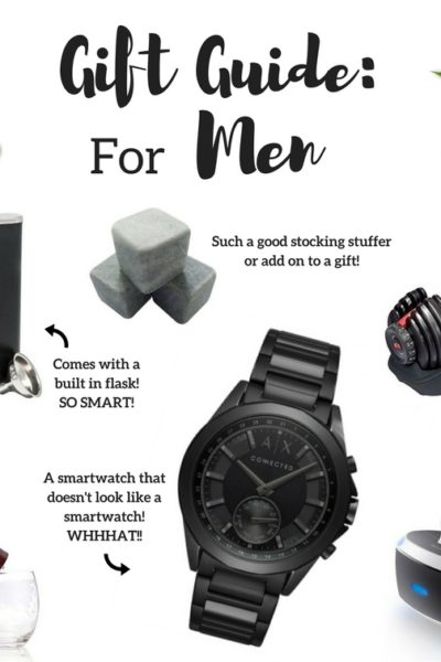 Gift Guide for Men As Told by Men!