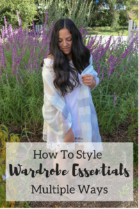 How To Style Wardrobe Essentials Multiple Ways