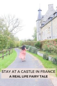 Sleep at this beautiful old castle in Normandy, France and you'll feel like you're in a real life fairy tale