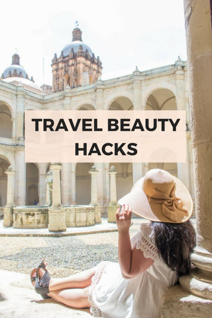 Travel beauty hacks to look amazing for your vacation photos with minimal effort. Beauty hacks for hair, nails, makeup, and comfortable but cute clothes