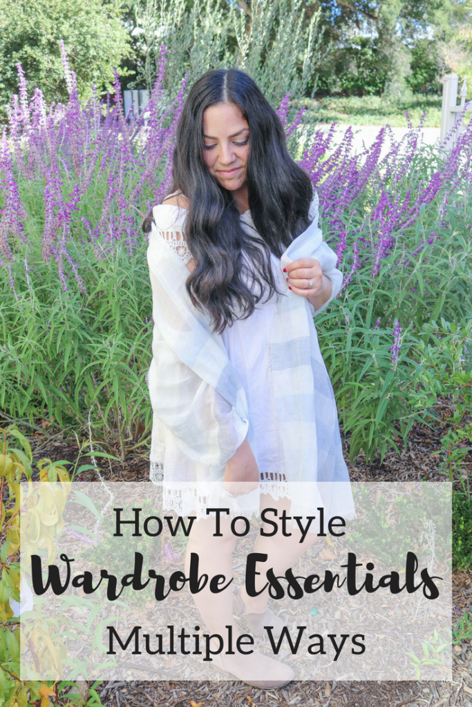 Multiple Ways to Style Wardrobe Essentials