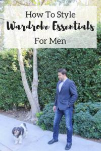 Multiple Ways to Style Wardrobe Essentials for Men
