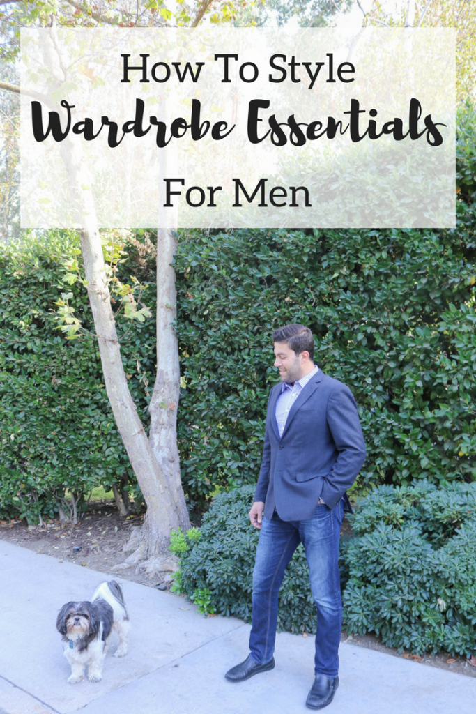 Multiple Ways to Style Wardrobe Essentials for Men