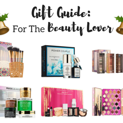 Gift Guide for Her: Beauty