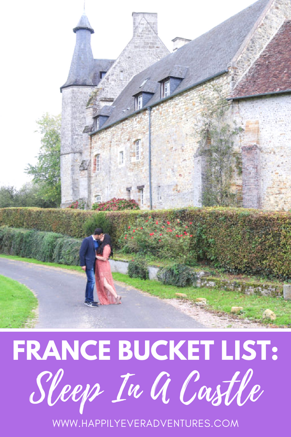 Add this to your France Bucket List! Stay at a romantic fairy tale castle in Normandy, France