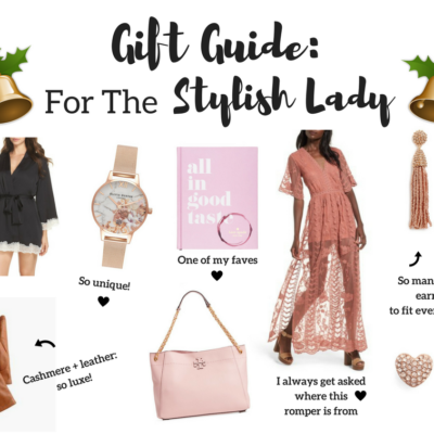 Gift Guide for Her: Stylish