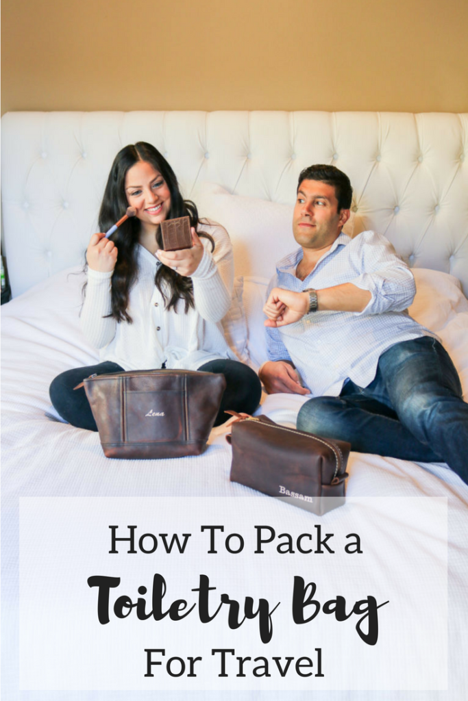 How to Keep a Toiletry Bag Packed for Travel | Travel hacks | Trip planning | Packing hacks |