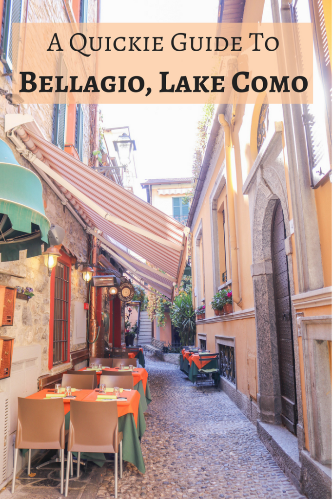 Guide to Bellagio, Lake Como, Italy: Things To Do and Where To Eat