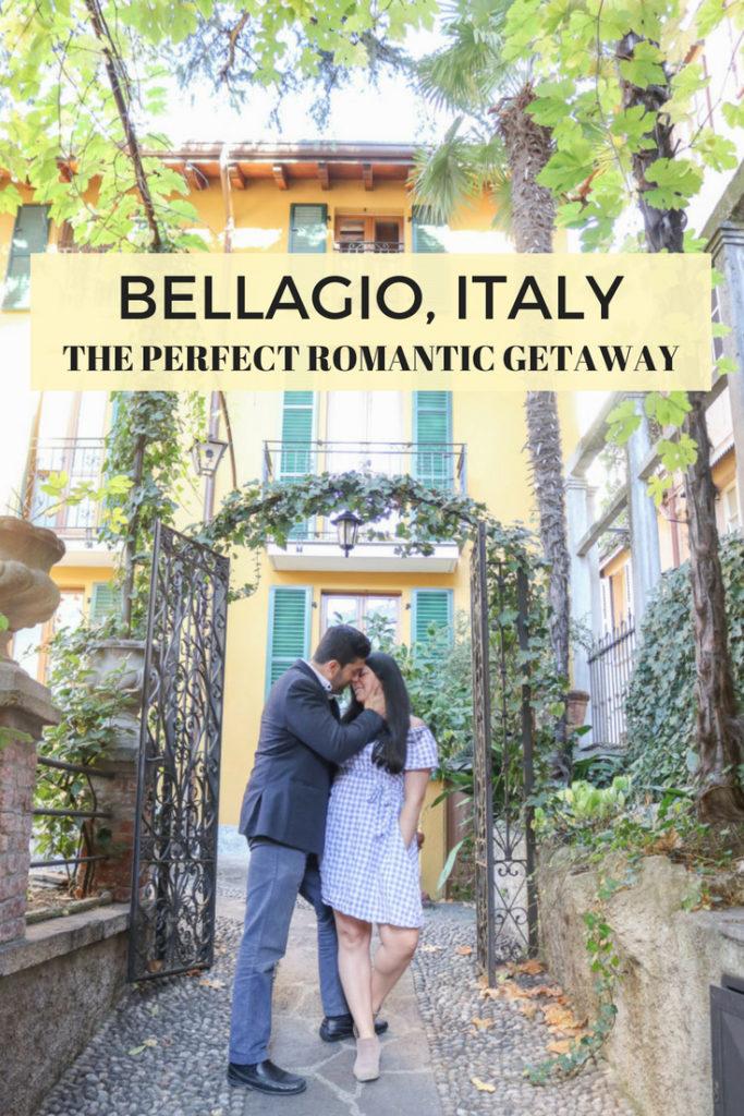 Bellagio, Lake Como, Italy: the perfect romantic destination for a honeyroom or romantic getaway vacation