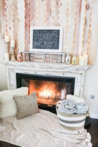 How To Antique a Mantle for DIY Beginners