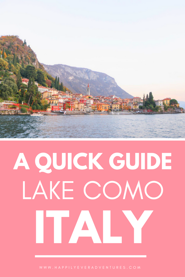 The best things to do, see, and eat in Bellagio, Lake Como, Italy! All you need to know for a quick getaway.