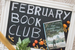 One Summer Day in Rome – February Book Club Discussion