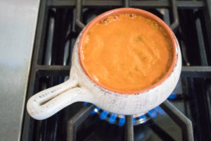 Creamy Roasted Tomato Soup   vegan   whole 30 recipes   dairy free soup   comforting soups  