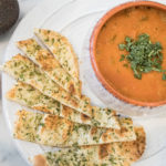 Creamy Roasted Tomato Soup | vegan | whole 30 recipes | dairy free soup | comforting soups |