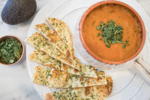 Easy Creamy Roasted Tomato Soup – Dairy Free and Vegan