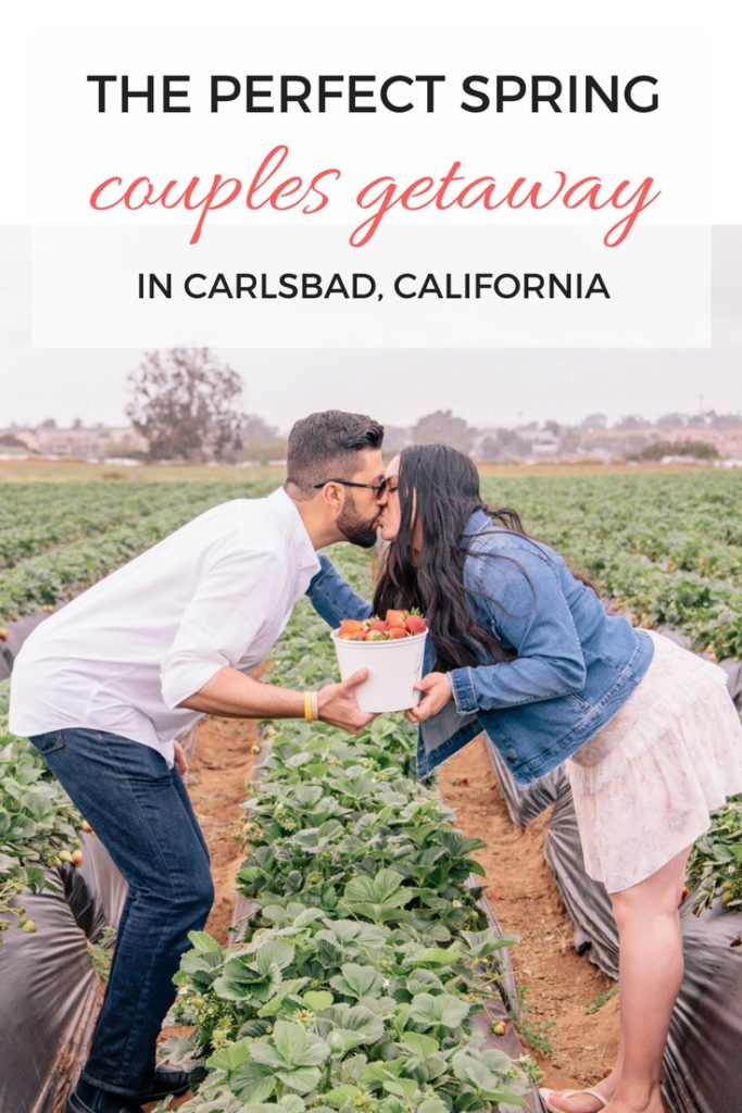 The perfect spring couples getaway to Carlsbad, California #spring #springtravel
