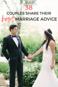 38 Couples Share Their Best Marriage Advice and Relationship Tips. These tips will transform your marriage whether you're a newlywed or you've been married for years.