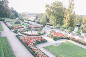 Garden of Le Chateau d'Usse - The Loire Valley castle that inspired the Sleeping Beauty story and castle