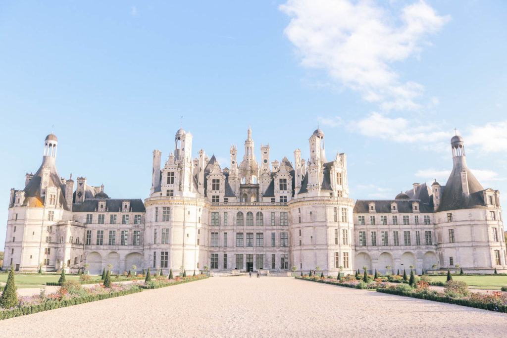 Chateau de Chambord: castle in Loire Valley that inspired the Beast castle from Beauty and the Beast