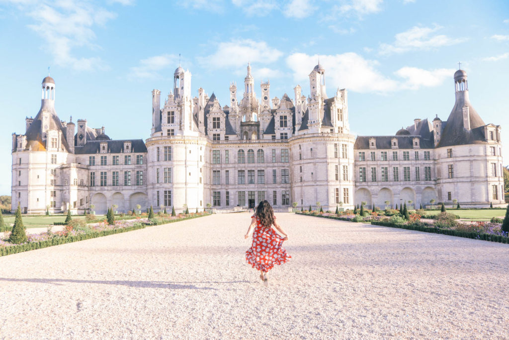 Chateau de Chambord - the castle in the Loire Valley that inspired the Beauty and the Beast castle