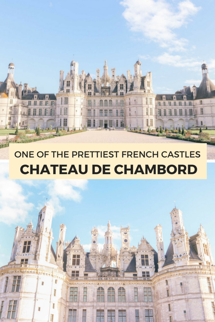 Chateau de Chambord is one of the prettiest French castles. Here are the three best castles (chateau) you must visit in Loire Valley, France. They make the perfect day trip or weekend getaway from Paris!