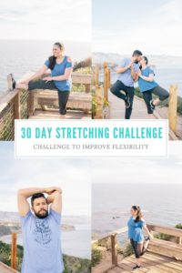 30 Day Stretching and Flexibility Challenge. Perfect for those with desk jobs or who spend the majority of the day sitting