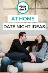 Date night ideas that you can do at home after the kids are in bed or just on date nights you want to stay home. Most are budget friendly! Some romantic date night ideas and some fun and silly